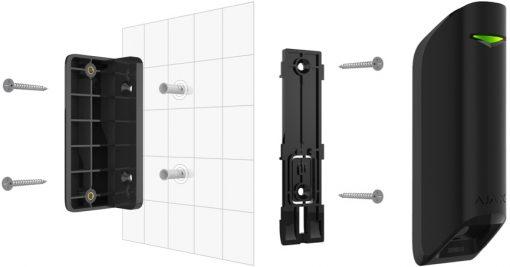 Ajax MotionProtect Curtain detector indoor