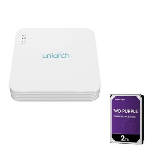 UNV Uniarch NVR 4 kanaals Network Video Recorder