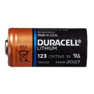Duracell Lithium CR123A batterij 3V