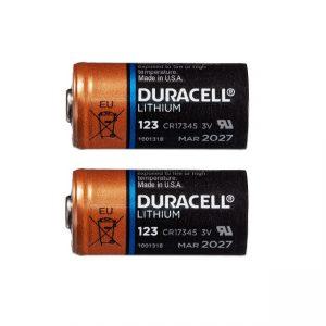 Duracell Lithium CR123A 3V batterij (2st)