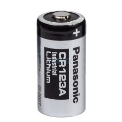 Panasonic Lithium CR123A 3V Industrial batterij