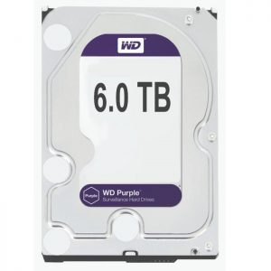Harddisk WD Purple 6TB